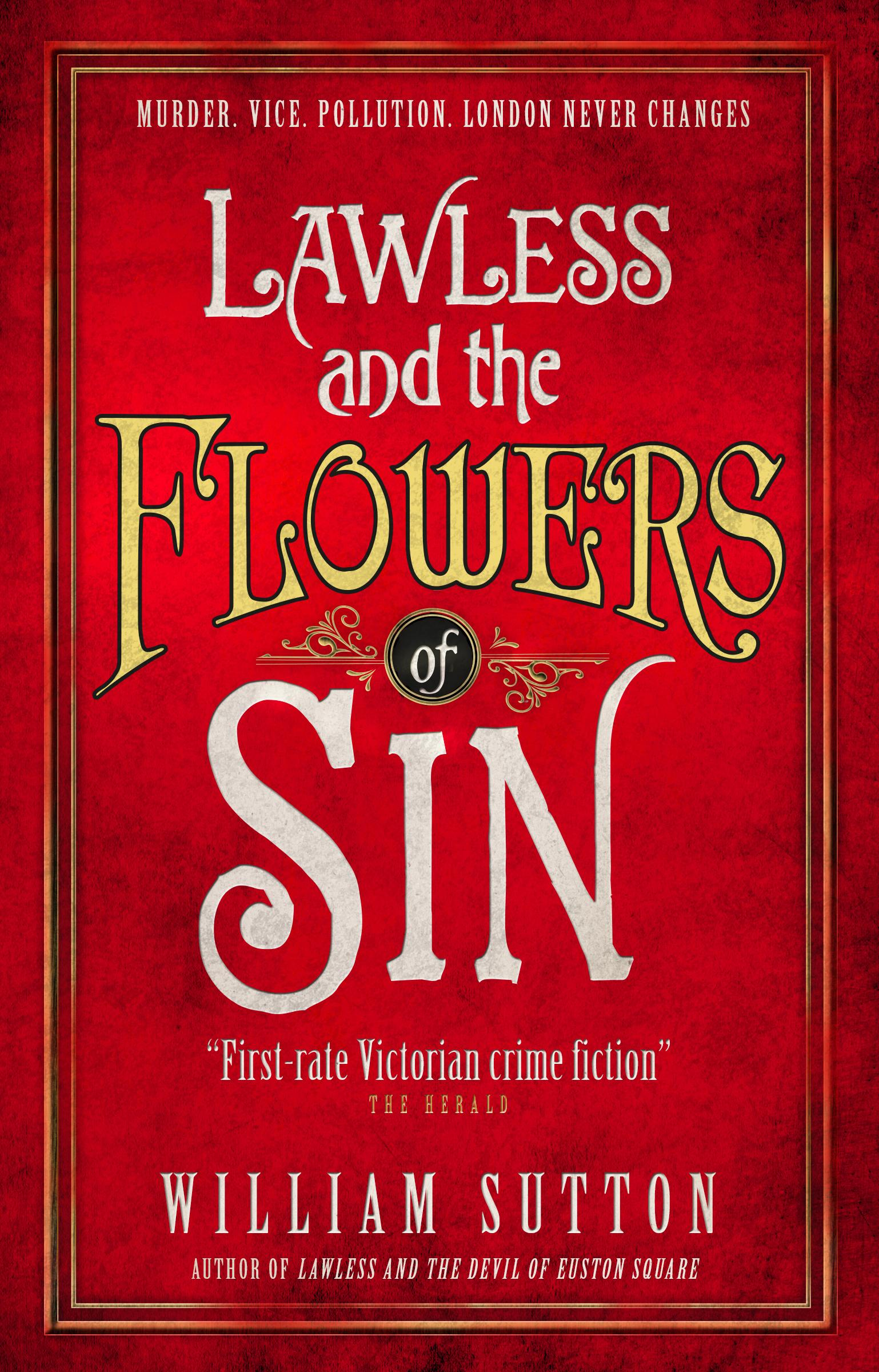 Lawless and the Flowers of Sin (Lawless 2) the society of sin