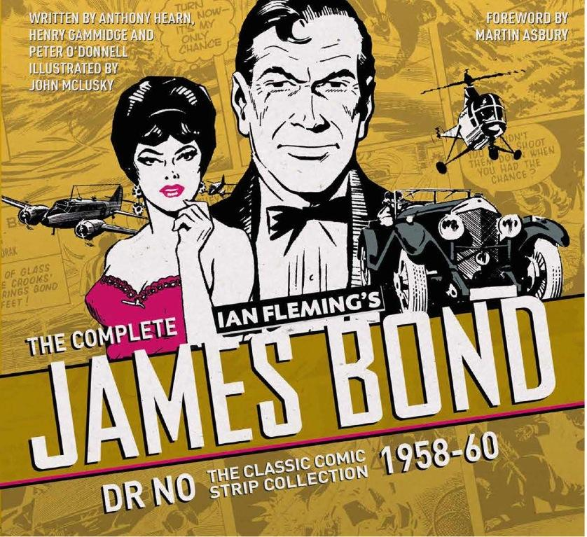 The Complete James Bond: Dr No – The Classic Comic Strip Collection 1958–60 the classic 90s collection cd