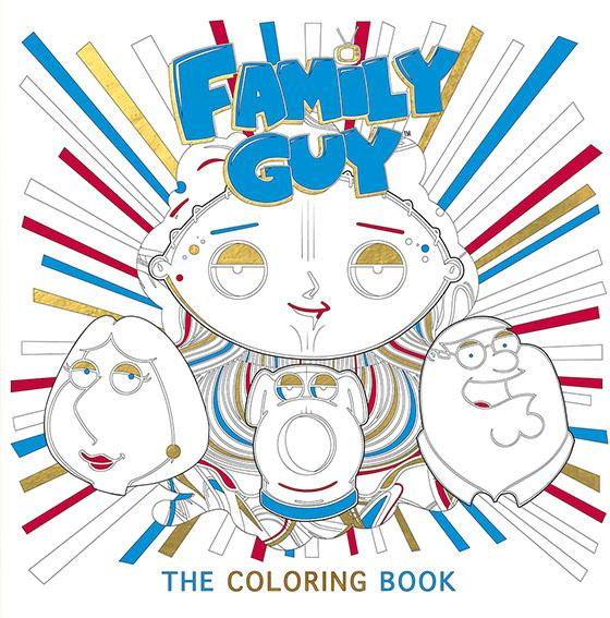 Family Guy: The Coloring Book bella italia a coloring book tour of the world capital of romance
