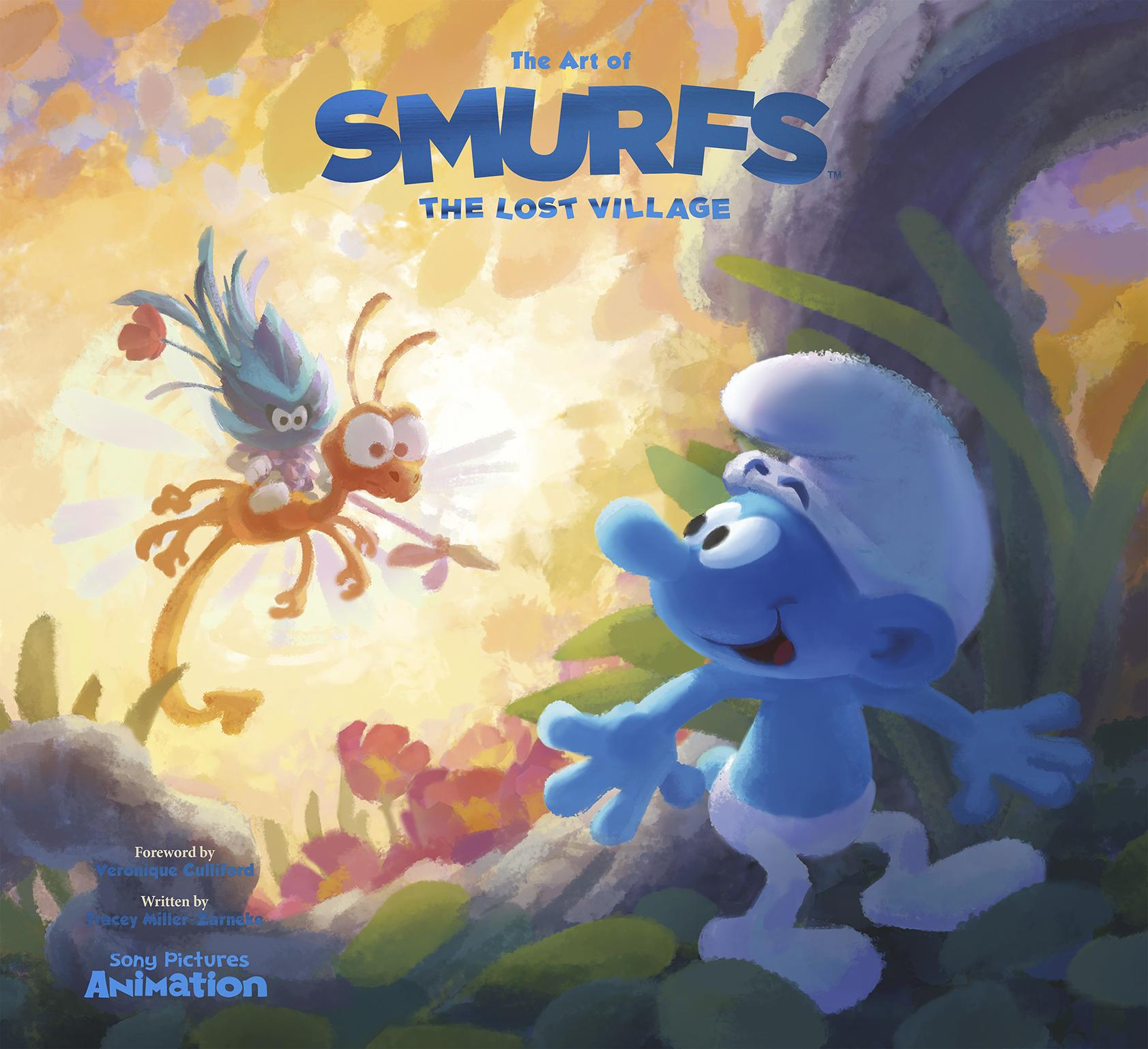 The Art of Smurfs: The Lost Village the art of battlefield 1