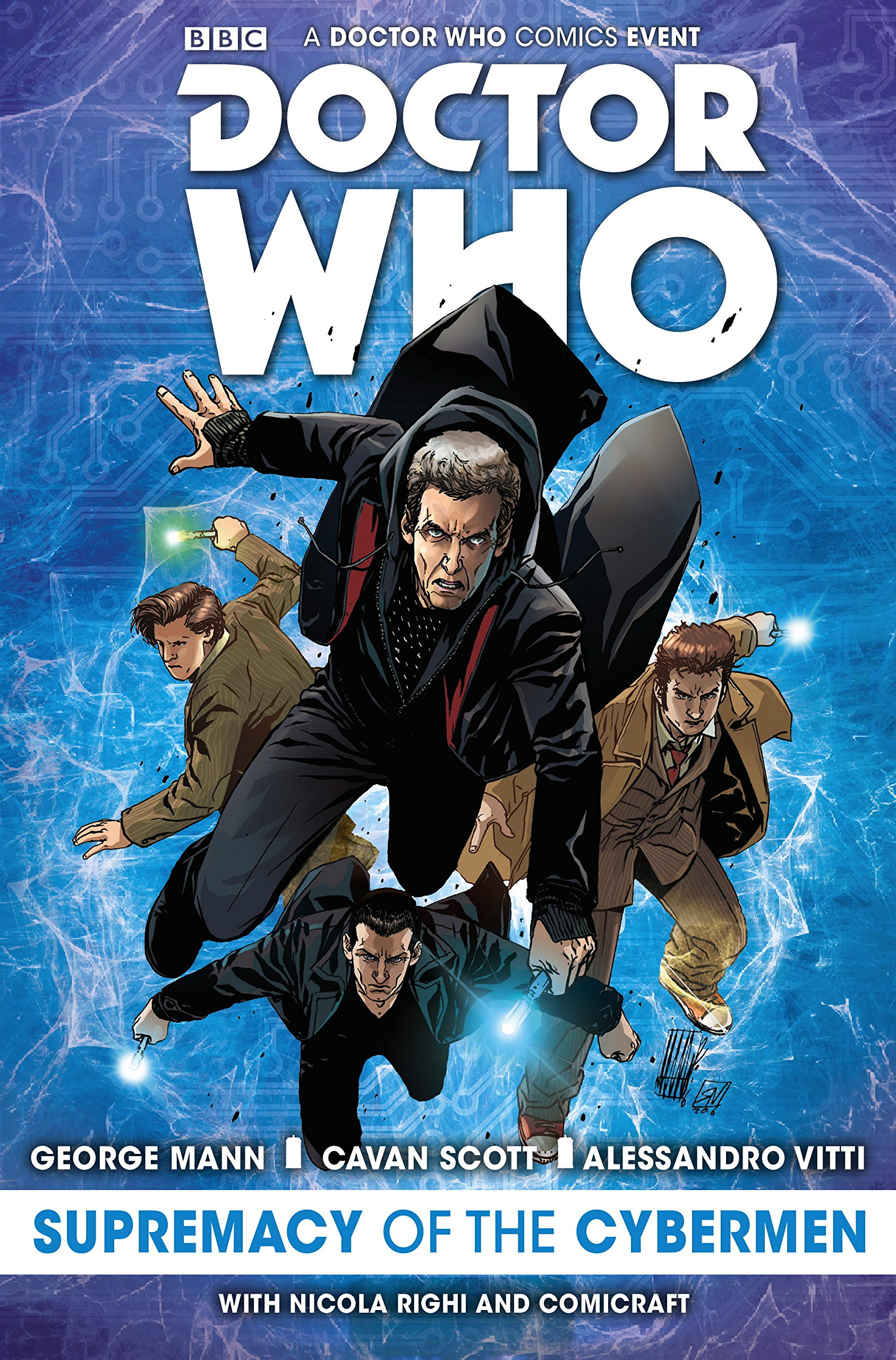 Doctor Who Event 2016: The Supremacy of the Cybermen doctor who the eleventh doctor volume 3 conversion