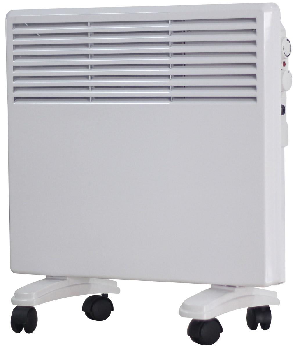 Irit IR-6204 конвекторный обогревательIR-6204Конвекторный обогреватель. Размер: 465 х 99 х 420 мм. Алюминиевый теплообменник. 2 уровня нагрева (500/1000Вт). Регулировка температуры. Автоматическое поддержание заданной температуры. Световой индикатор работы. Возможность установки на стену, колесные опоры. Рабочее напряжение: 220-240Вт/50Гц.