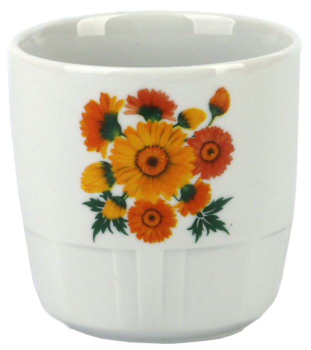 Кружка Фарфор Вербилок Гвардейка. Оранжевые герберы. 2866167028661670Красивая фарфоровая кружка способна скрасить любое чаепитие. Посуда из такого материала позволяет сохранить истинный вкус напитка, а также помогает ему дольше оставаться теплым.