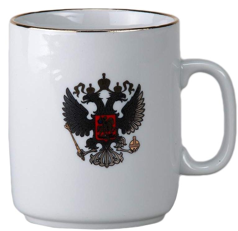 Кружка Фарфор Вербилок Герб платиновый. 92701509270150Красивая фарфоровая кружка способна скрасить любое чаепитие. Посуда из такого материала позволяет сохранить истинный вкус напитка, а также помогает ему дольше оставаться теплым.