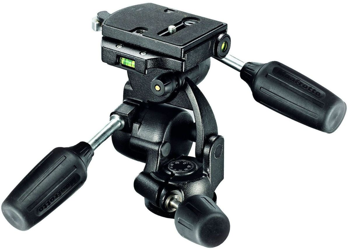 Manfrotto 808RC4, Black штативная головка