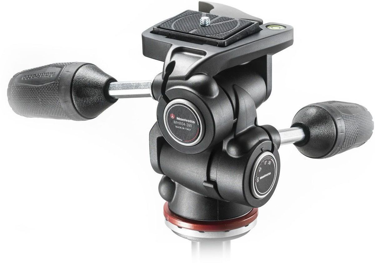 Manfrotto MH804-3W, Black штативная головка