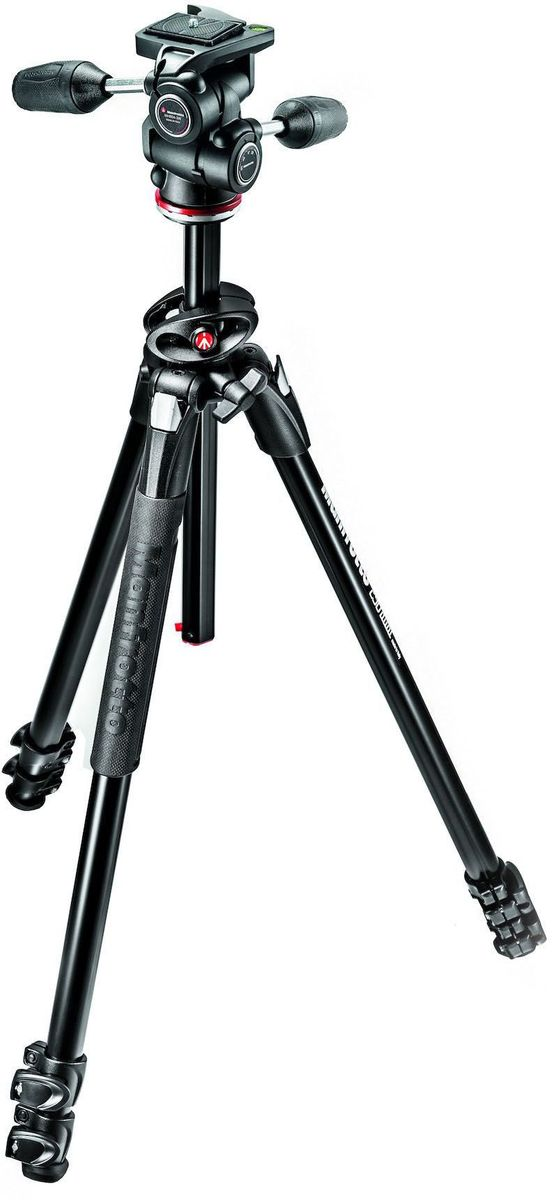 Manfrotto MK290DUA3-3W, Black штатив