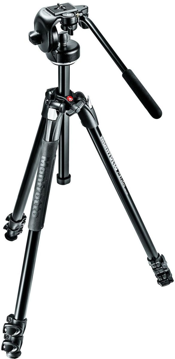 Manfrotto MK290XTA3-2W, Black штатив