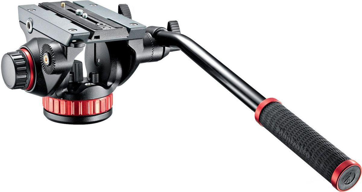 Manfrotto MVH502AH, Black штативная головкаMVH502AHВся полнота плавного управления при съемке благодаря регулируемым жидкостным механизмам. Идеальна для новейших камкордеров и зеркальных камер с дополнительными аксессуарами (максимальная нагрузка 4 кг). Головку можно сочетать со всеми фотоштативами благодаря резьбе для крепления на винт 3/8.
