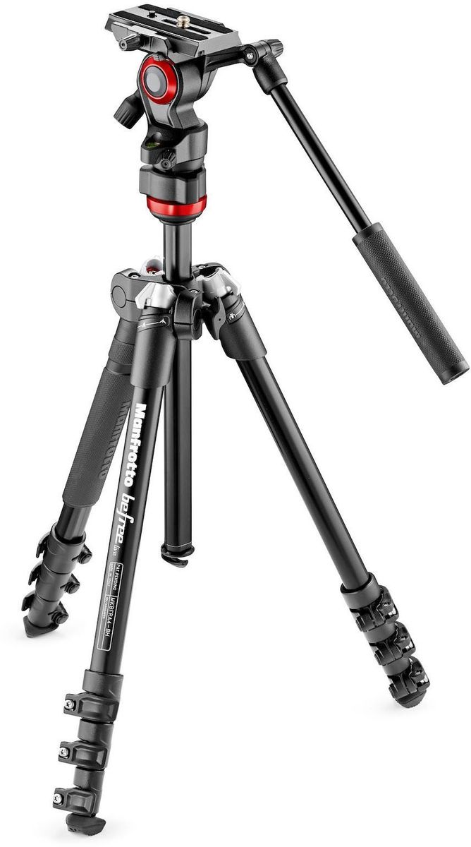 Manfrotto MVKBFR-LIVE, Black штатив