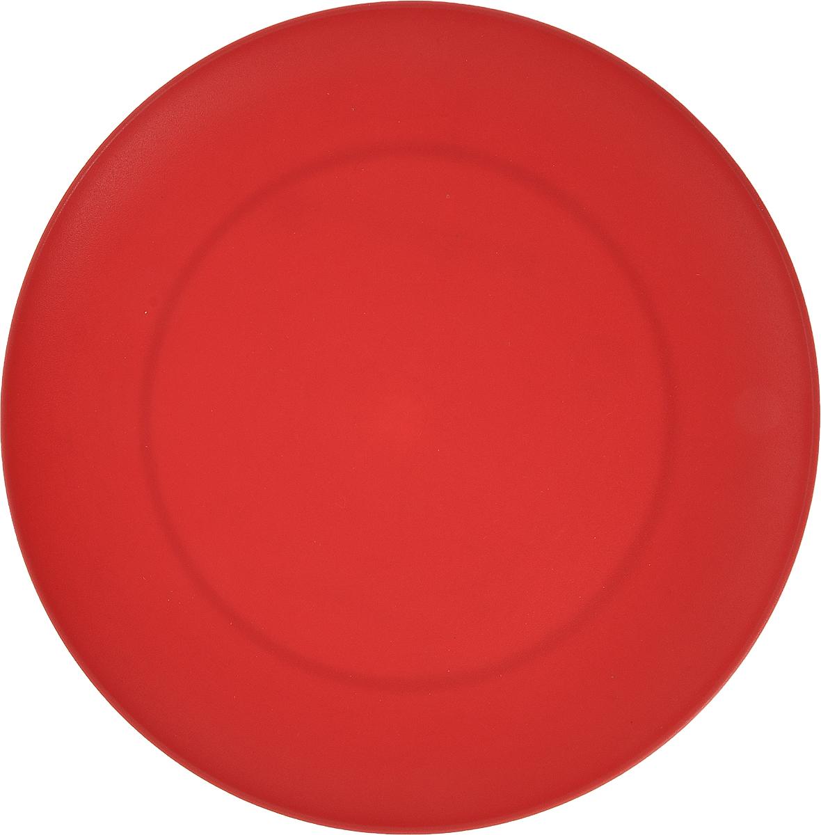 """Тарелка """"Gotoff"""" изготовлена из цветного пищевого  полипропилена и предназначена для холодной и горячей пищи.  Выдерживает температурный режим в пределах от -25°С  до +110°C.  Посуду из пластика можно использовать в  микроволновой печи, но необходимо, чтобы нагрев не  превышал максимально допустимую температуру.  Удобная, легкая и практичная посуда для пикника и дачи  поможет сервировать стол без хлопот! Диаметр тарелки (по верхнему краю): 20,3 см.  Высота тарелки: 2 см."""