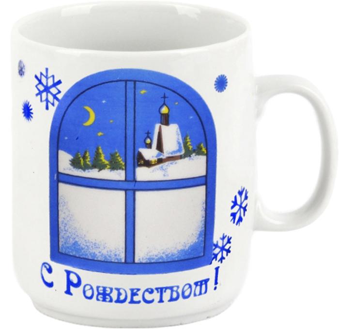 Кружка Фарфор Вербилок Рождество. 1371010 кружка мини сувенирная 20мл фарфор