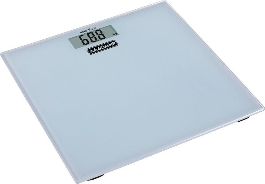 Ладомир НА103 весы напольныеНА103Весы Ладомир НА103 - простой и удобный прибор, чтобы всегда быть в курсе своего веса. Нормальный вес - залог хорошего здоровья, поэтому очень важно держать его под контролем. Регулярно взвешивайтесь по утрам, и вы будете отслеживать динамику своего веса.Высокоточный датчик в весах Ладомир всего за пару секунд определит ваш вес и выведет его на дисплей в удобном для вас формате.Весы работают от батарейки типа СR2032.