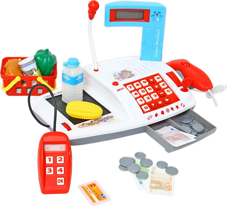 Veld-Co Игрушечная касса игрушечная посуда veld co игрушечная посуда