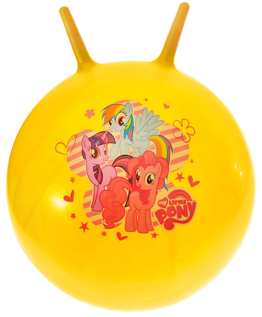 Играем вместе Мяч-прыгунок My Little Pony с рожками цвет желтый 45 см