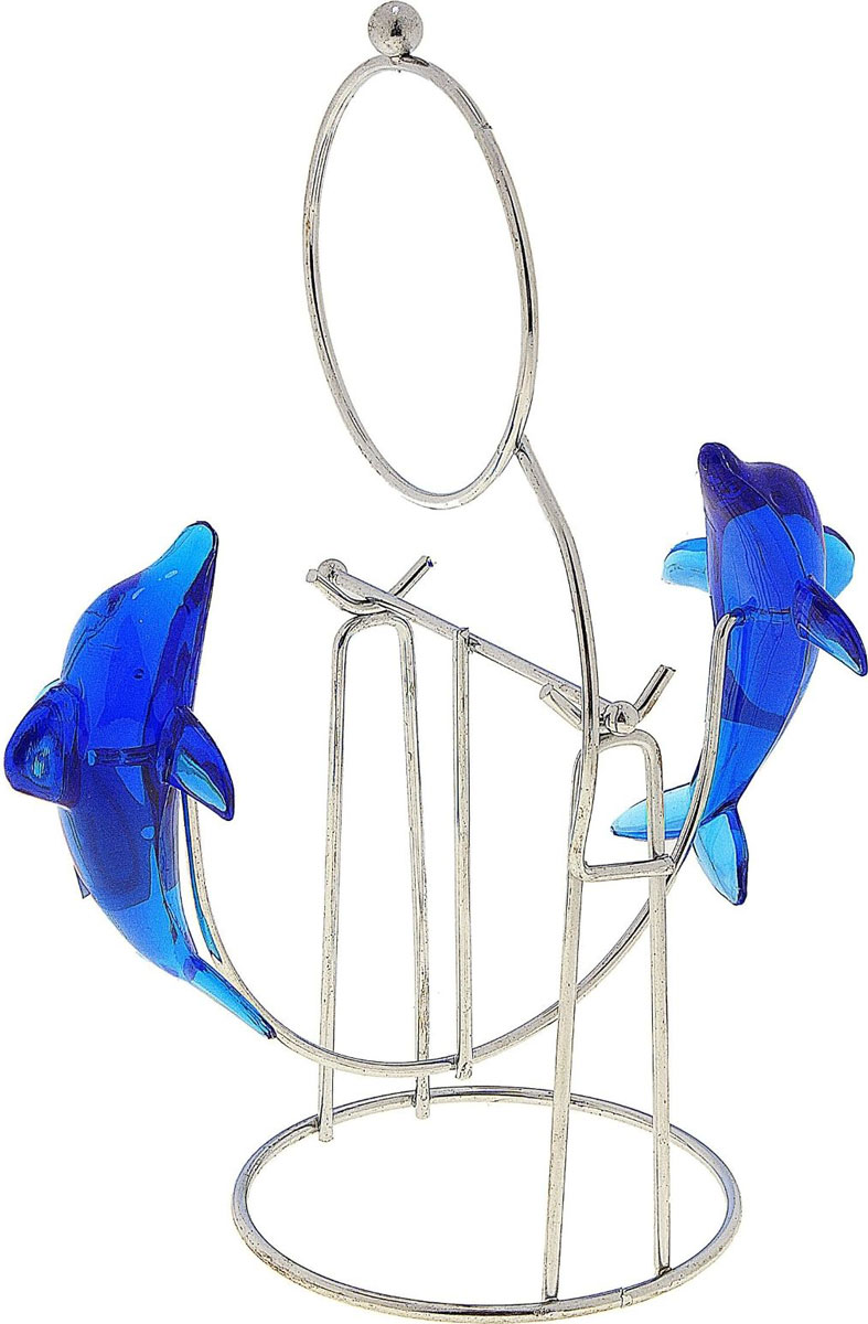 Маятник Дельфины с кольцом574185Перед вами — сувенир в полном смысле этого слова. И главная его задача — хранить воспоминание о месте, где вы побывали, или о том человеке, который подарил данный предмет. Преподнесите эту вещь своему другу, и она станет достойным украшением его дома.