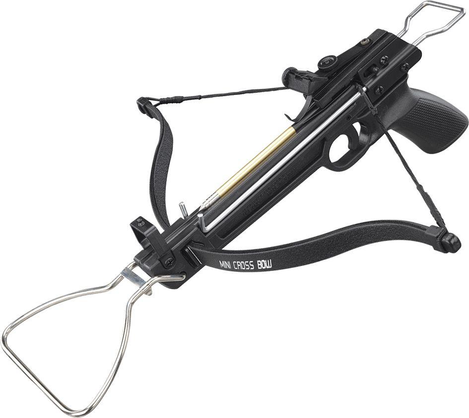 Арбалет-пистолет Man Kung, цвет: черный, 80 lbs. MK/MK-80A1