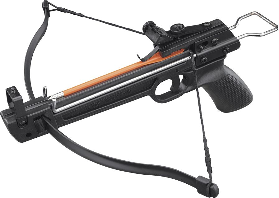 Арбалет-пистолет Man Kung, цвет: черный, 50 lbs аксессуар трос для блочного арбалета man kung mk 350c