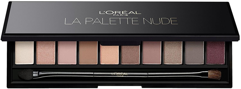 L'Oreal Paris Палитра для глаз Nude от Color Riche , матовые и сияющие оттенки, стойкие, 7 г l oreal paris la palette nude палетка теней для глаз розовая