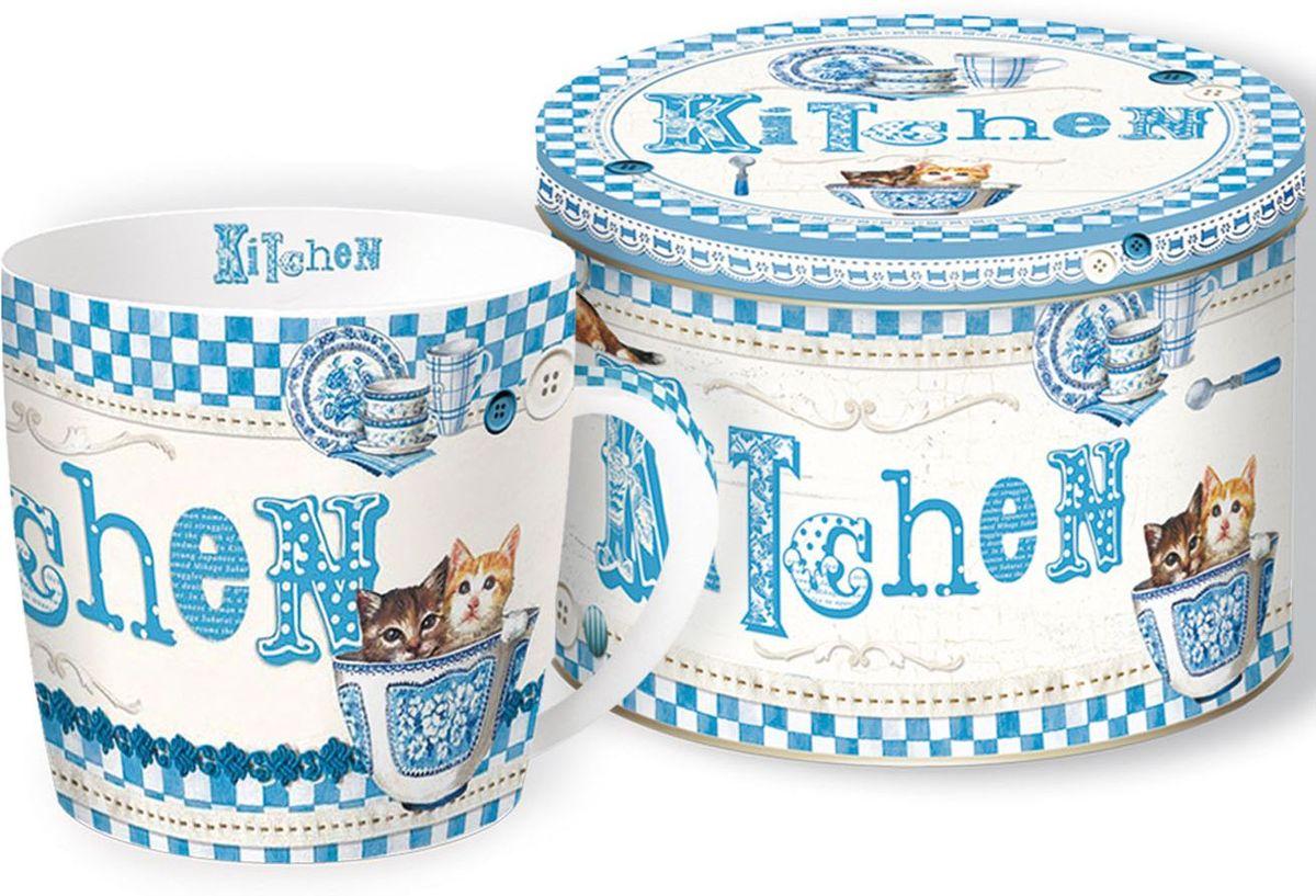 Кружка Nuova R2S Милые котята, 350 мл217BLUKКружка Nuova R2S Милые котята изготовлена из качественного фарфора. Внешние стенки декорированы красивым рисунком. Такая кружка согреет вас горячим напитком и станет неизменным атрибутом чаепития. Кружка станет отличным подарком для друзей и близких. Можно использовать в микроволновой печи и мыть в посудомоечной машине.