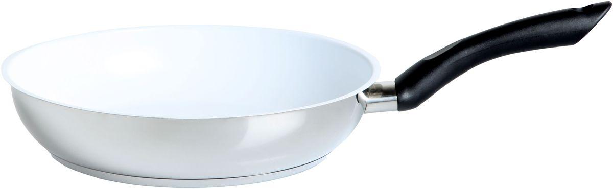 Сковорода Inoxpran Prama, керамическое покрытие, диаметр: 28 см3970216Сковорода Inoxpran Prama диаметр: 28 см изготовлена из высококачественного материала. Керамическое покрытие позволяет готовить без масла.