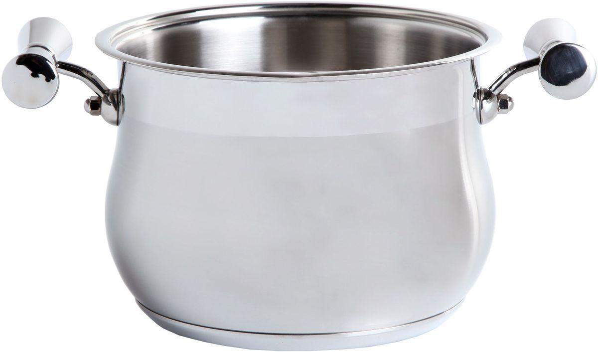Кастрюля Inoxpran Prama Prandelli Collection, глубокая, с двумя ручками, 3.5 л, диаметр: 20 см5761135Кастрюля  Prandelli Collection изготовлена из высококачественной нержавеющей стали. Идеально подходит для приготовления блюд в большой семье. Многослойное термоаккумулирующее дно кастрюли обеспечивает наилучшее распределение тепла. Пригодна для мытья в посудомоечной машине. Кастрюля  Prandelli Collection выполнена со вкусом и любовью итальянских мастеров к еде и красоте.
