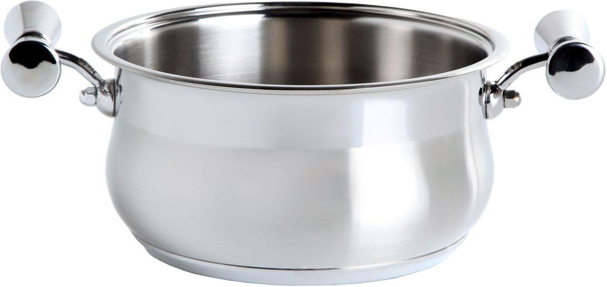 Кастрюля Inoxpran Prama Prandelli Collection, глубокая, с двумя ручками, 3.4 л, диаметр: 24 см5761204Кастрюля  Prandelli Collection изготовлена из высококачественной нержавеющей стали. Идеально подходит для приготовления блюд в большой семье. Многослойное термоаккумулирующее дно кастрюли обеспечивает наилучшее распределение тепла. Пригодна для мытья в посудомоечной машине. Кастрюля  Prandelli Collection выполнена со вкусом и любовью итальянских мастеров к еде и красоте.
