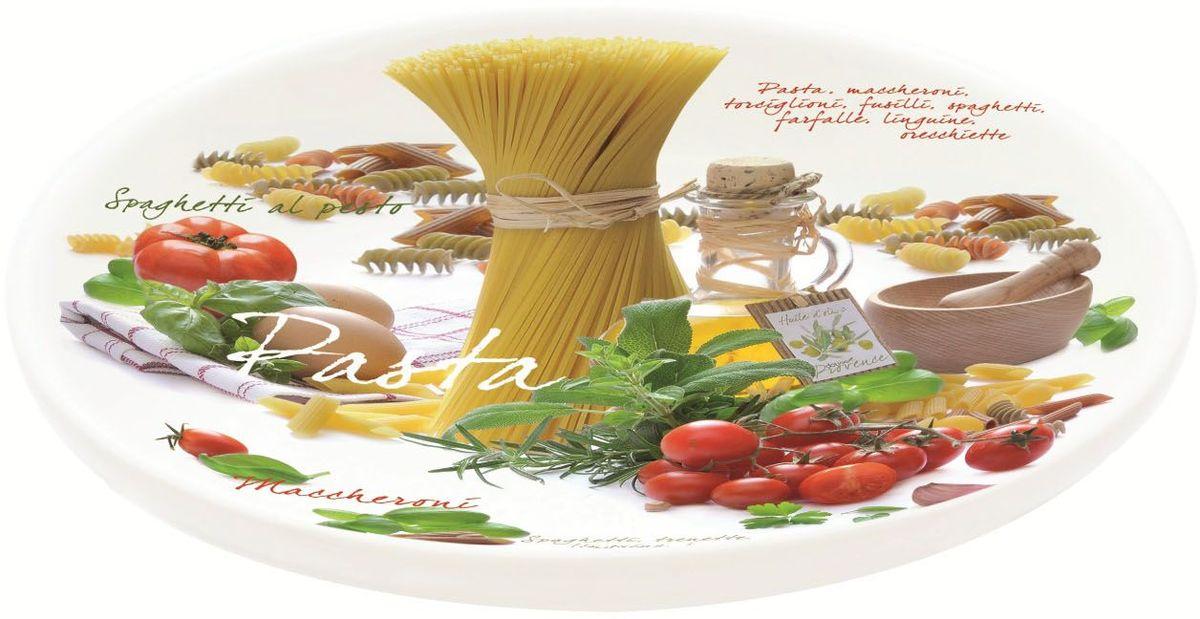 Блюдо «Спагетти» идеально подойдет для изысканной подачи блюда для всей семьи. Товар изготовлен из высококачественного материала.  Диаметр блюда: 30 см.