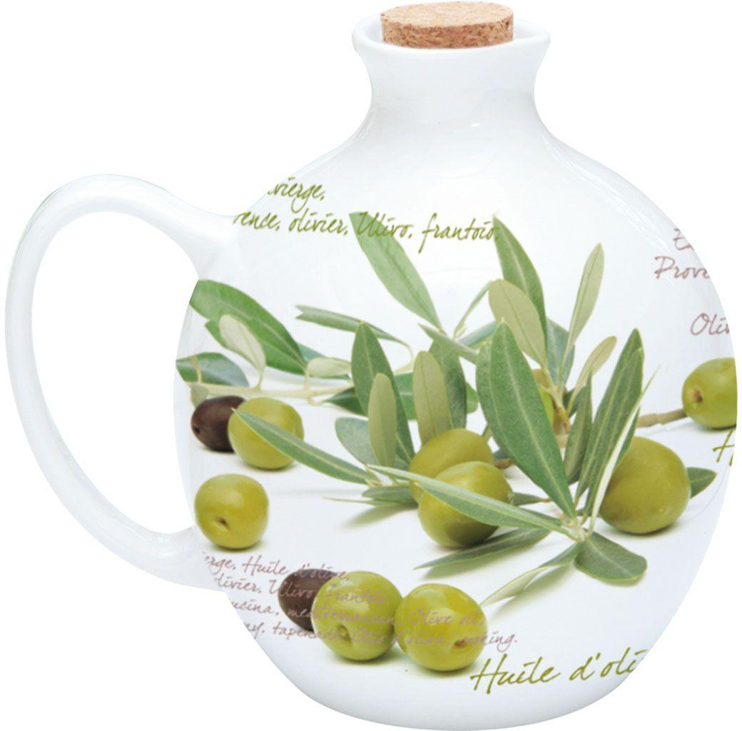 Кувшин для оливкового масла Nuova R2S Оливки, 500 мл730OVSКувшин для оливкового масла Оливки 500мл прекрассное дополнение к колекции тарелок и блюда. Незаменимый предмет на кухне. Товар изготовлен из высококачественного материала.