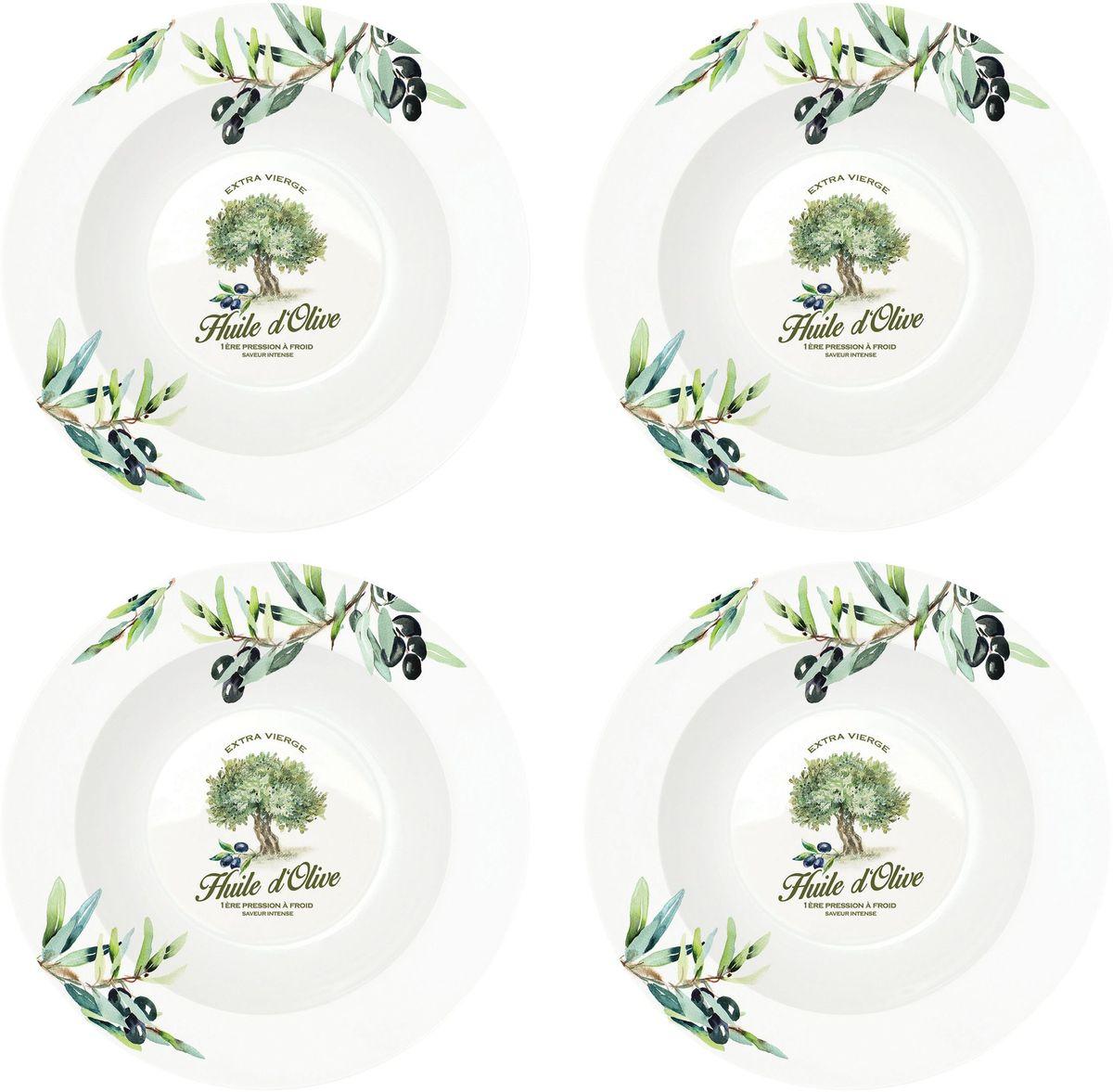 Набор тарелок Nuova R2S Прованс, диаметр 22 см, 4 шт819PROVНабор Nuova R2S Прованс, выполненный из высококачественного фарфора, состоит из четырех тарелок и предназначен для красивой сервировки различных блюд. Изделия оформлены красочным изображением и сочетают в себе стильный дизайн с максимальной функциональностью.Оригинальность оформления придется по вкусу и ценителям классики, и тем, кто предпочитает утонченность и изящность.Можно использовать в микроволновой печи и мыть в посудомоечной машине.Диаметр тарелки: 22 см.