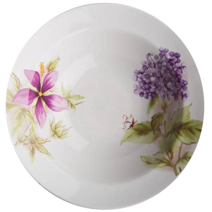 Миска Дулевский Фарфор Альпийские цветы, 500 мл066452Миска Дулевский Фарфор Альпийские цветы выполнена из высококачественного фарфора, покрытого глазурью. Изделие дополнено красочным цветочным рисунком. Такая миска пригодится на любой кухне. В ней можно сервировать различные блюда или использовать как суповую тарелку. Диаметр: 20 см. Высота стенки: 6 см.