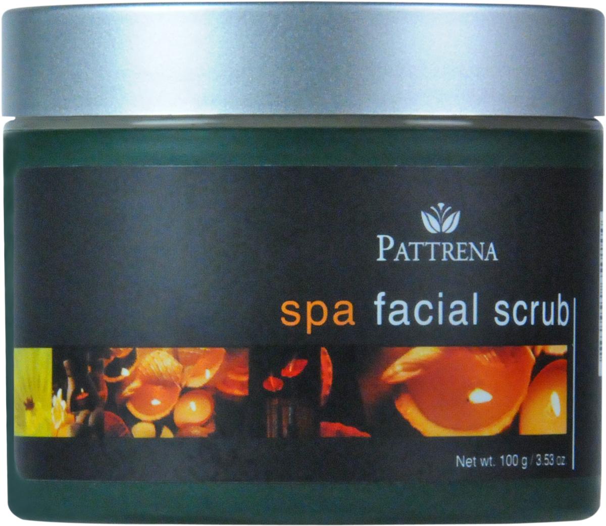Pattrena Скраб для лица Паттрена Спа, 100 г pattrena ароматный крем для тела роза 250 г