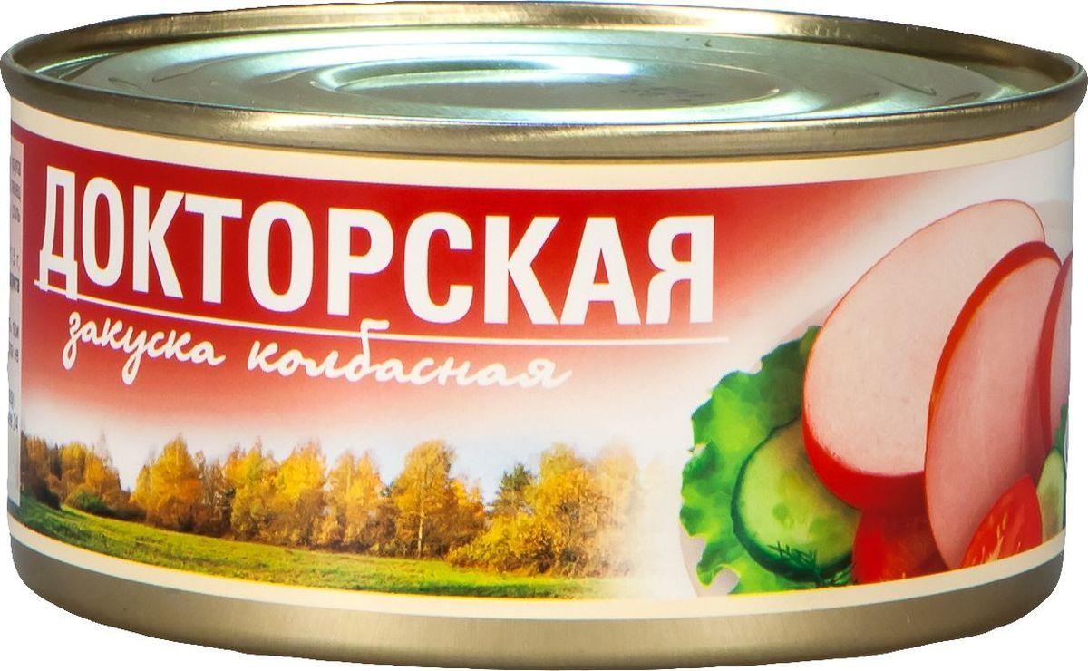 Рузком Колбасная закуска Докторская, 325 г4606411000545Колбасная закуска Докторская.