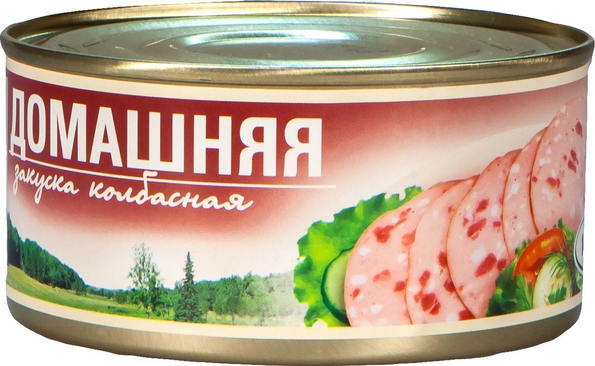 Рузком Колбасная закуска Домашняя, 325 г4606411000583Колбасная закуска Домашняя.