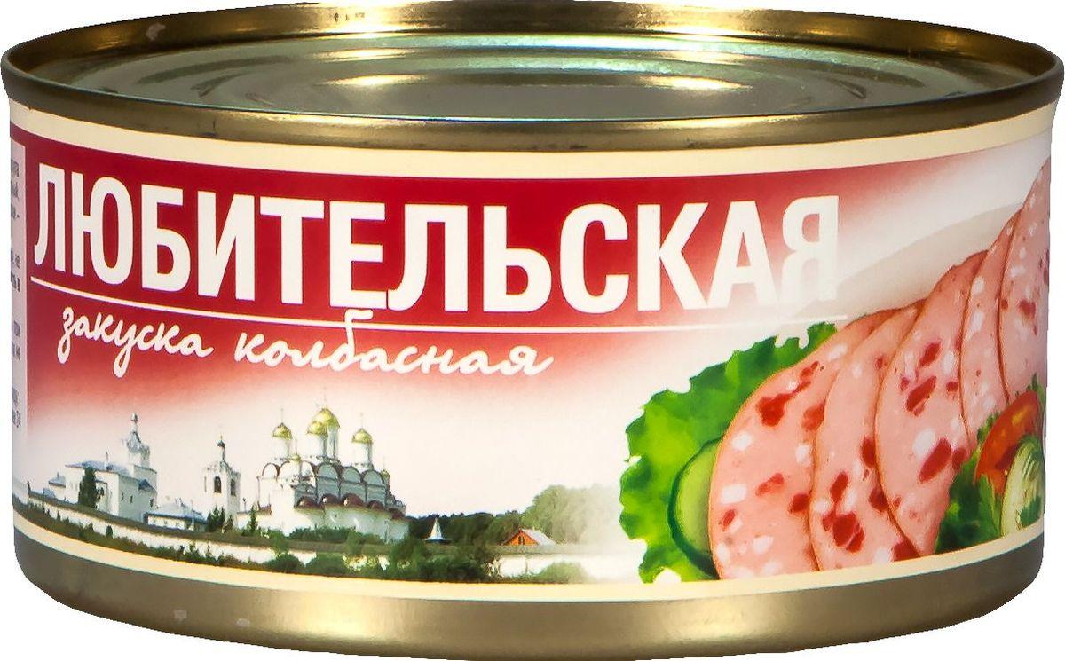 Рузком Колбасная закуска Любительская, 325 г4606411000347Колбасная закуска Любительская.