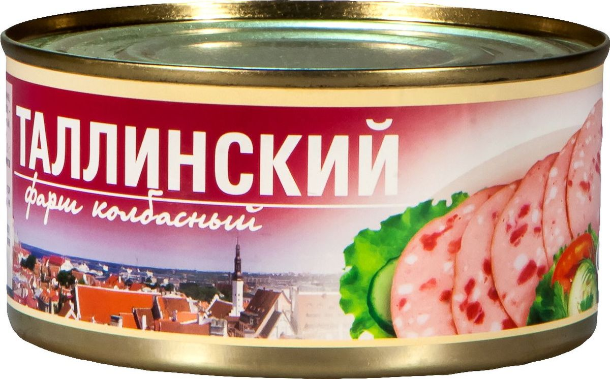 Рузком Фарш колбасный Таллинский, 325 г барс свинина тушеная высший сорт гост 325 г