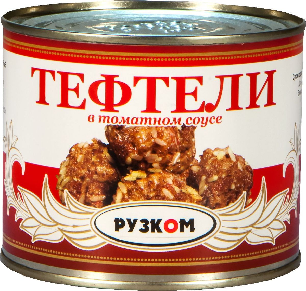 Рузком Тефтели в томатном соусе, 540 г бериложка биточки в грибном соусе 250 г
