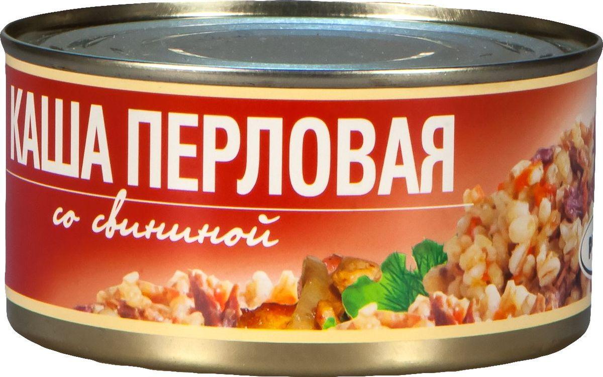 Рузком Каша перловая со свининой, 325 г рузком мясо курицы в собственном соку 325 г
