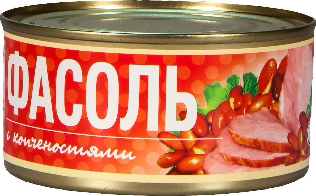 Рузком Фасоль с копченостями, 325 г барс свинина тушеная высший сорт гост 325 г
