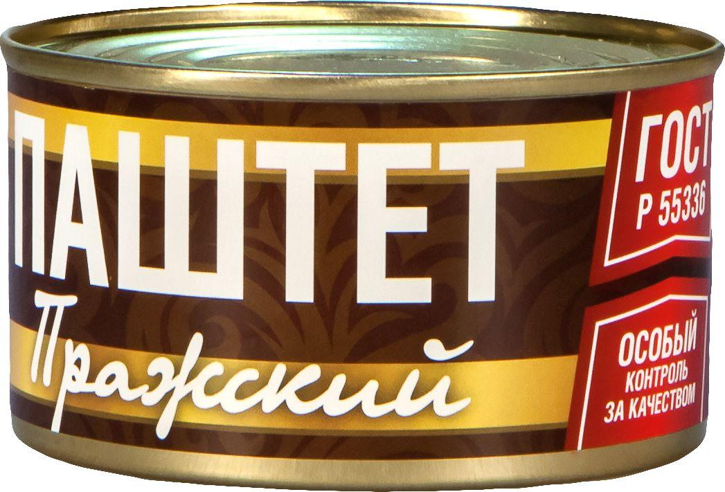 Рузком Пражский паштет, 230 г паштет argeta куриный 95г