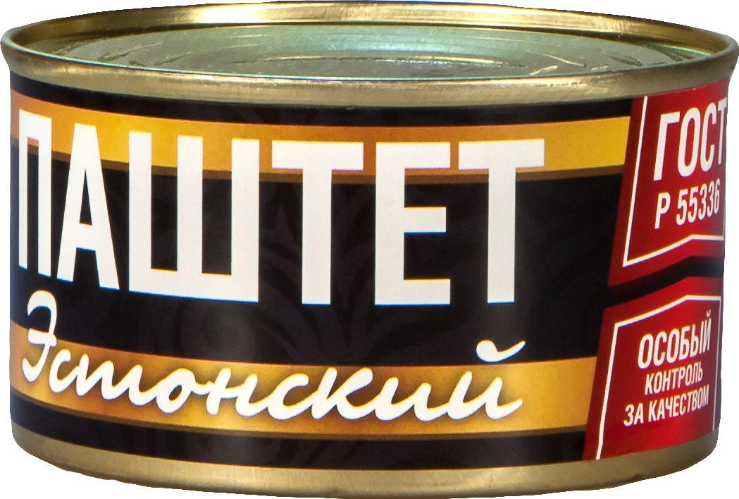 Рузком Эстонский паштет, 230 г4606411005793Паштет Эстонский. Продукт готов к употреблению.