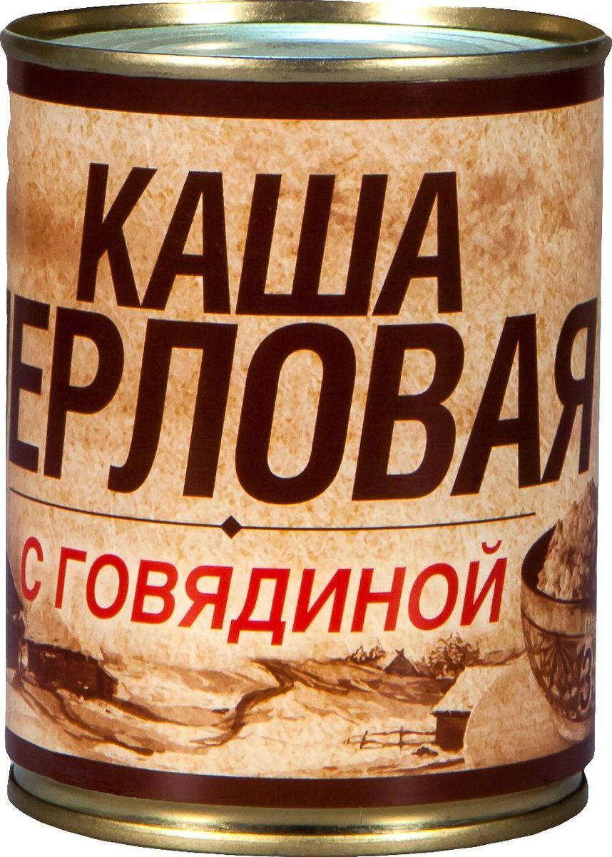 Вотчина Каша перловая с говядиной, 338 г