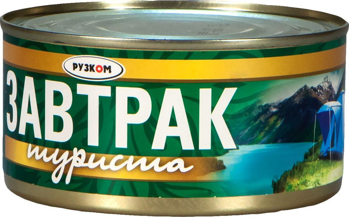 Рузком Завтрак туриста, 325 г рузком мясо цыпленка в собственном соку 325 г