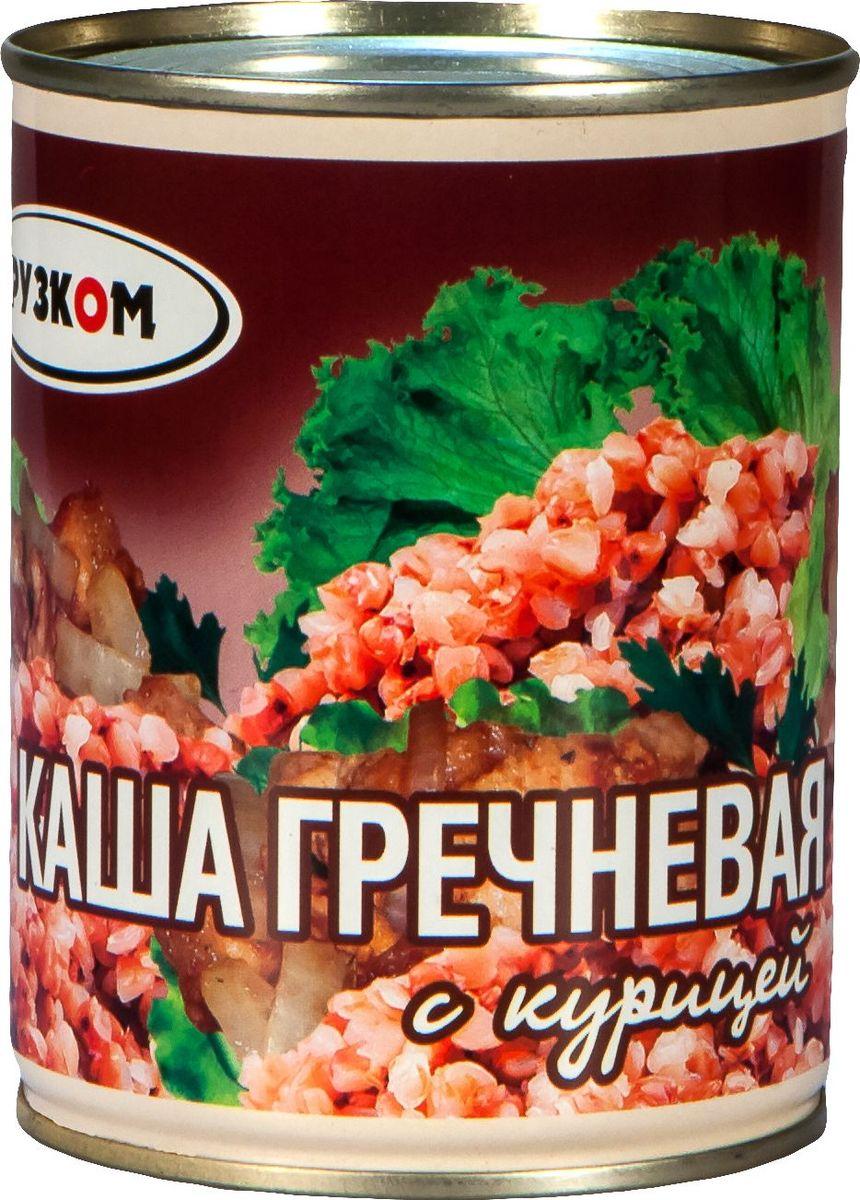 Рузком Каша гречневая с курицей литография, 338 г рузком каша рисовая со свининой 325 г