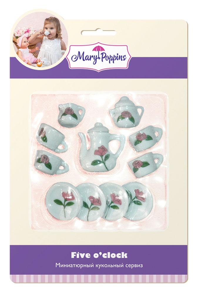 Mary Poppins Кукольный сервиз Роза 13 предметов