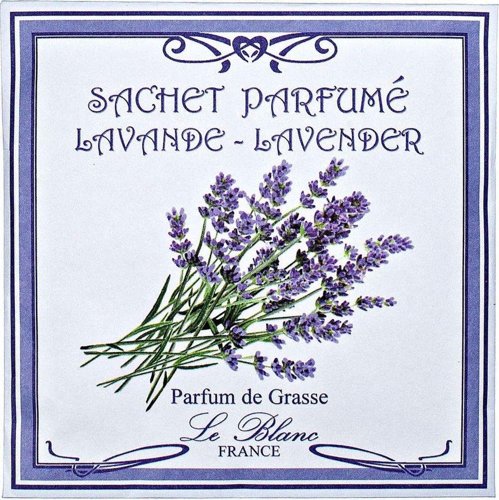 Саше ароматическое Le Blanc Лаванда, цвет: сиреневый3760110093305Ароматическое саше привносит в нашу жизнь тонкие, нежные ароматы, создают настроение легкости и воздушности. Саше относятся к разряду тех мелочей, благодаря которым создается настоящий уют в доме. Нежные небольшие цветы лаванды обладают свежим и чистым ароматом, и при этом достаточно сильным и ярким. Её запах насыщенный и успокаивающий, он ассоциируется с морским прибоем, чайками над волнами, прекрасным отдыхом, связанным с водой и купаниями. Или благоухание летнего луга, заросшего цветущими растениями. Тонкий, лёгкий, цветочный запах пробуждает в нас чарующие фантазии и поэтому так приятен каждому.
