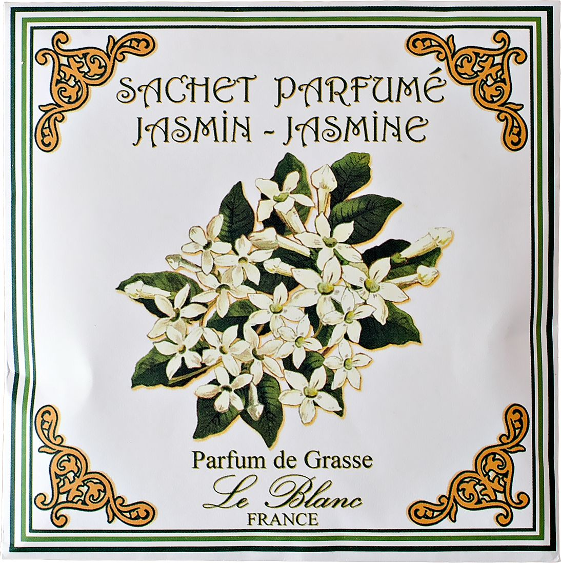 Саше ароматическое Le Blanc Жасмин, цвет: желтый3760110093343Подарки от Le Blanc - это роскошь в мелочах, определяющих стиль. Эти изящные вещицы привносят в нашу жизнь тонкие, нежные ароматы, создают настроение легкости и воздушности. Саше относятся к разряду тех мелочей, благодаря которым создается настоящий уют в доме. Если Роза - королева цветов, то Жасмин - король. Аромат этого белоснежного великолепия навевает ассоциации с роскошью востока, ведь и сам цветок родом из Индии, из аравийских оазисов. Аромат Жасмина необыкновенно свежий, и вместе с тем терпкий, стойкий и пьянящий. От него может закружится голова точно так же как от бокала изысканного вина. В благоухании жасмина таится магическая чувственность в сочетании с лёгкой и задорной душистостью. Вдохнув его, вы перенесетесь в грёзах в прекрасный восточный сад.