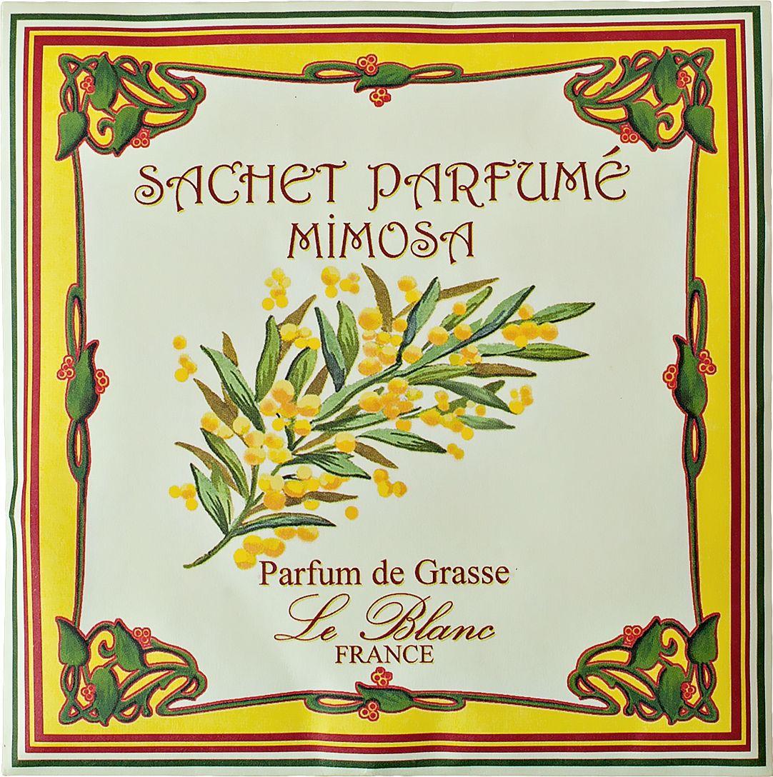 Саше ароматическое Le Blanc Мимоза3760110093367Подарки от Le Blanc - это роскошь в мелочах, определяющих стиль. Эти изящные вещицы привносят в нашу жизнь тонкие, нежные ароматы, создают настроение легкости и воздушности. Саше относятся к разряду тех мелочей, благодаря которым создается настоящий уют в доме. Тёплый живой весенний аромат, такой же, как и сам цветок, напоминающий сотни крохотных пушистых солнышек. Это нежный, сладковатый, немного фруктовый запах, являющийся для нас символом весны. Пудровый, слегка медовый аромат, пронизанный цветочно-древесными нотами, парфюмеры особенно любят использовать в различных парфюмерных композициях. Этот аромат переносит нас в чудесный сад, где царствует мимоза, принося в наш мир удивительную нежность, многоцветье красок и утончённую прелесть своих цветов.