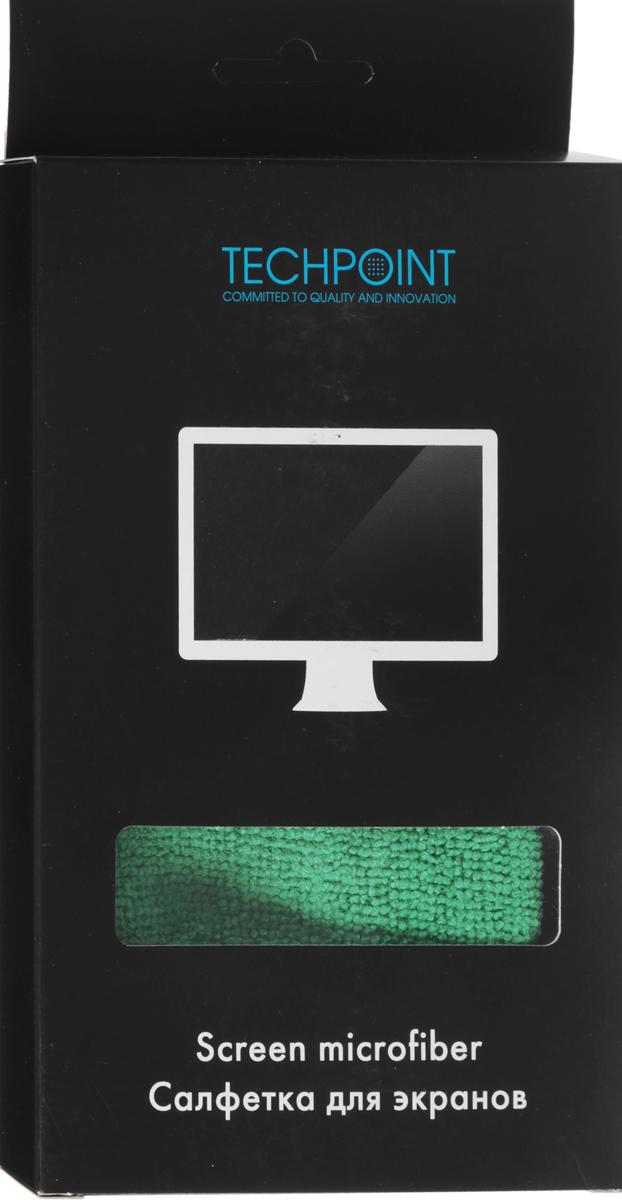 Салфетка для ухода за LCD экранами Techpoint Screen Cleaning Microfiber, 35 х 40 см1143Применяется для регулярного ухода за экранами любого типа. Антистатический эффект.