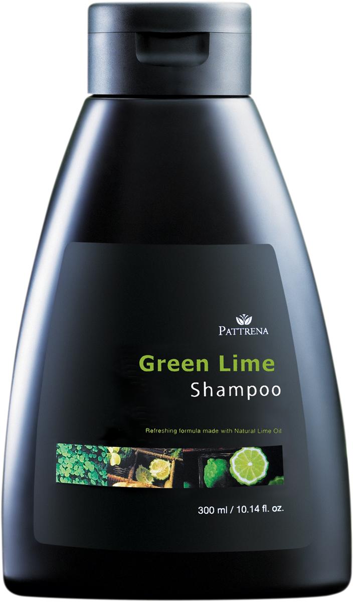 Pattrena шампунь Зеленый лайм, 300 мл pattrena кондиционер для волос бамбук 300 мл